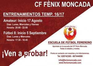 Entrenamientos CF Fenix Moncada